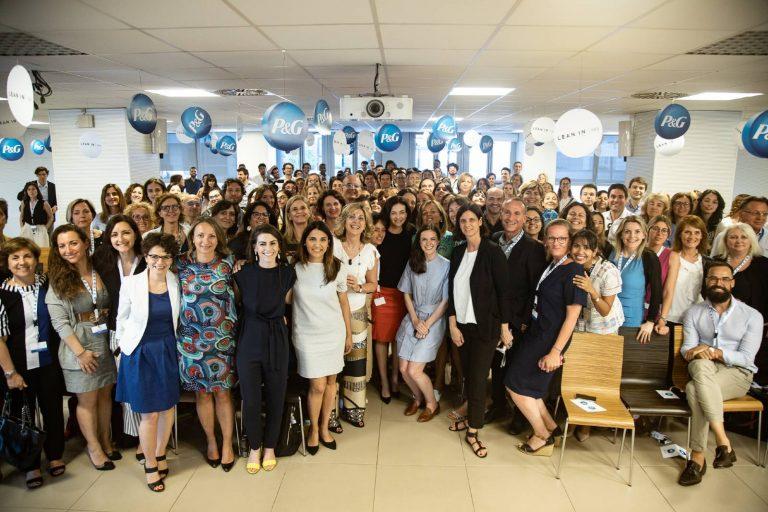 Sheryl Sandberg has met her community in Italy