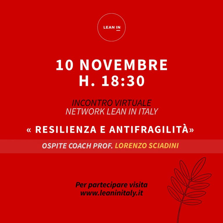 "Workshop online su ""Resilienza e Antifragilità"""