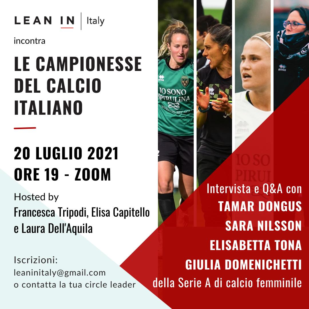 Le campionesse dal calcio italiano